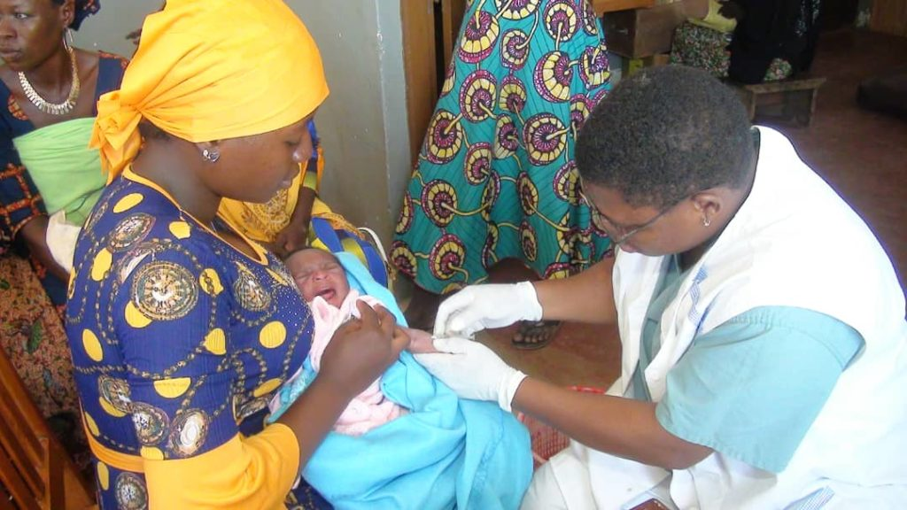 Vaccination des enfants au CMS Bon-Secours